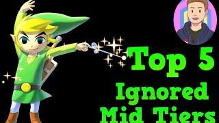 Top 5 Ignored Mid Tier Smash Bros 4 Fighters