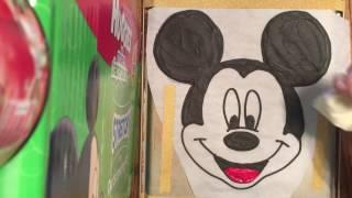 Mickey Mouse Frozen Buttercream Transfer