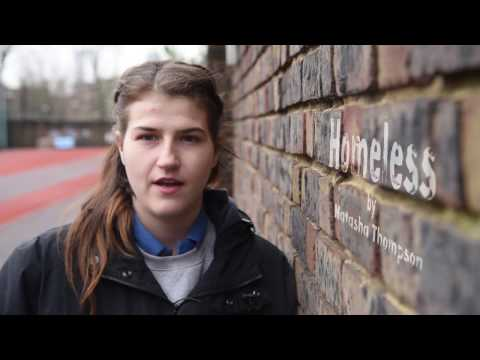 Young and Homeless in London: Homeless by Natasha Thompson, spoken word artist