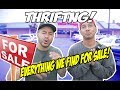 FINDING RARE GEMS AT 3 DIFFERENT TYPES OF THRIFT STORES! CRAZY!