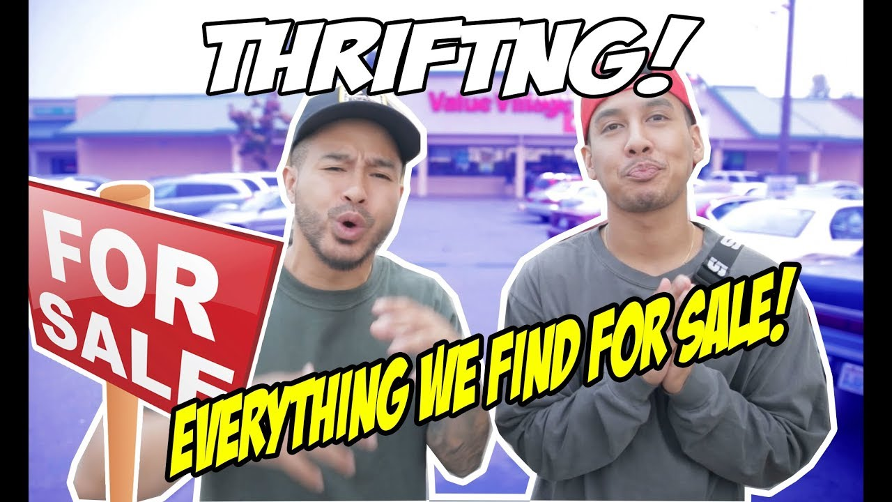 ULTIMATE THRIFTING CHALLENGE! 3 DIFFERENT TYPES OF STORES! WE FOUND HEAT!