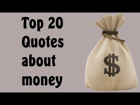64 Funny, Inspiring and Stupid Money Quotes From Famous People