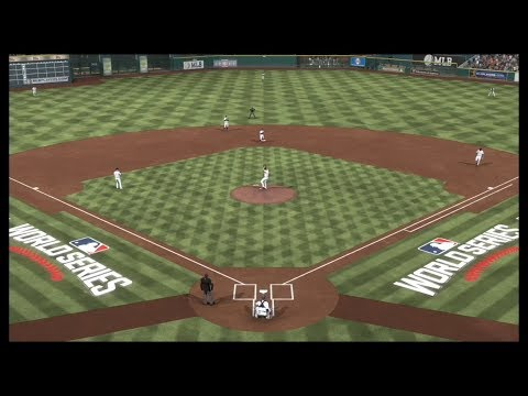 2017 WORLD SERIES: LOS ANGELES DODGERS VS HOUSTON ASTROS AT MINUTE MAID PARK. MLB THE SHOW 17