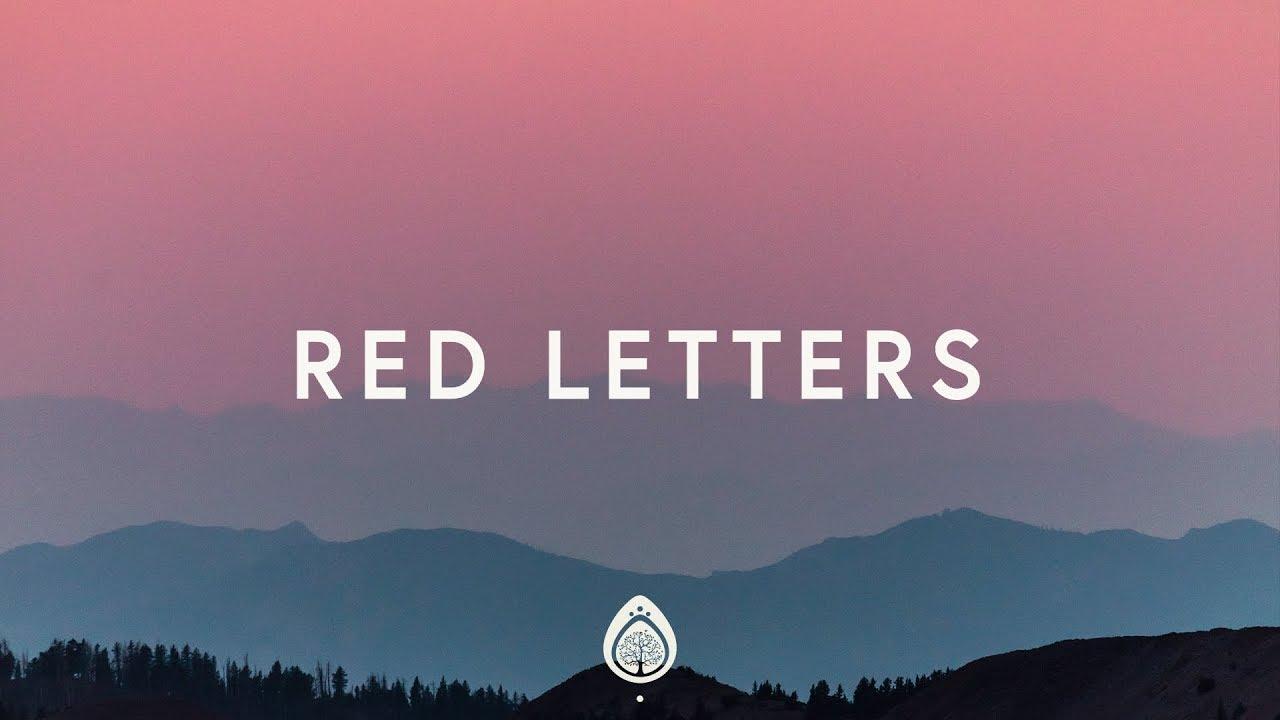 Crowder ~ Red Letters (Lyrics)