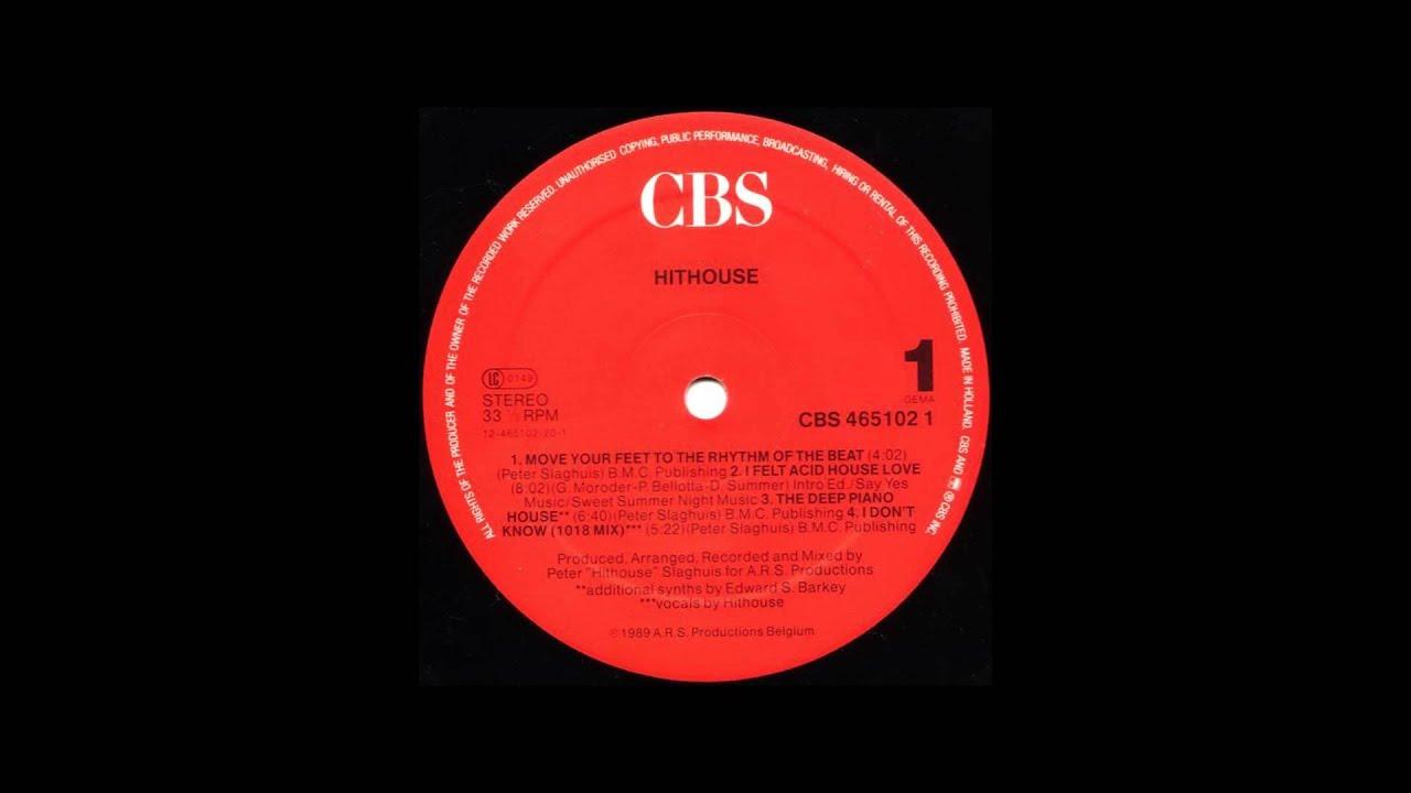 Hithouse i felt acid house love hithouse recordings for Acid house 1989