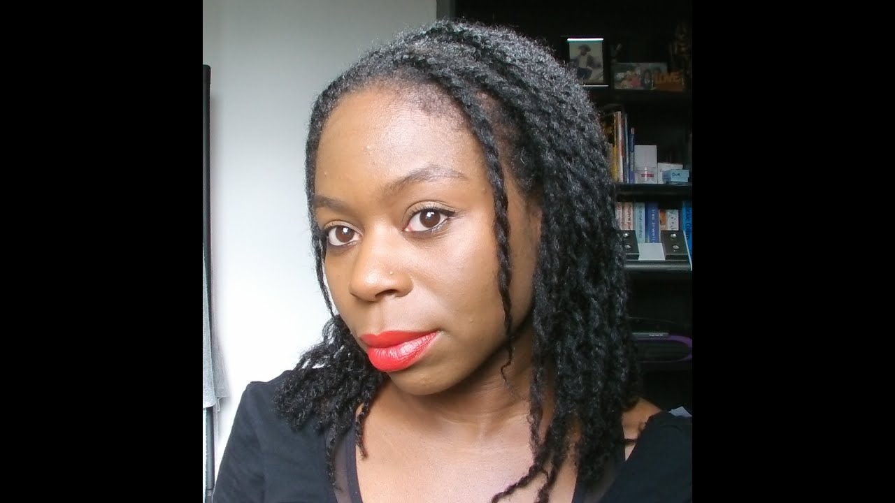 Natural Hair Loose Two Strand Twists YouTube