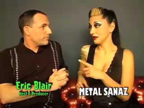 METAL SANAZ talks to ERIC BLAIR 2008