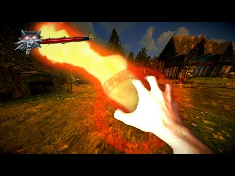THE WITCHER 3 VR BETA TEST
