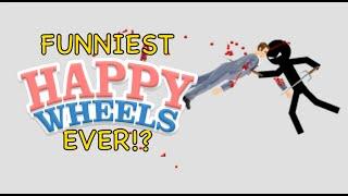 FUNNIEST HAPPY WHEELS EVER!?