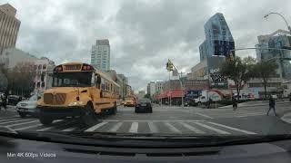 【4K】Driving NYC: Allen St, Essex St, 23rd St, USA