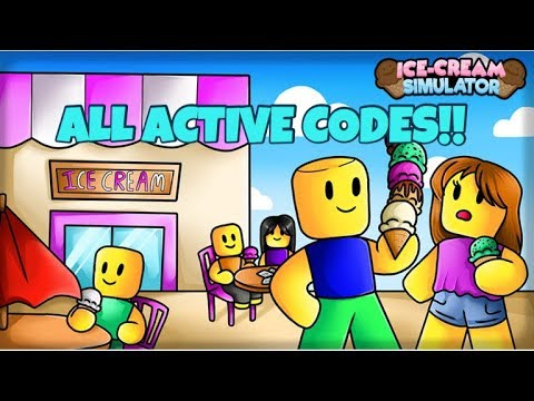 ALL ACTIVE CODES!!! [Update 1] ICE CREAM SIMULATOR 🍦