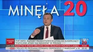 Kolejny donos na Polskę - Minęła dwudziesta