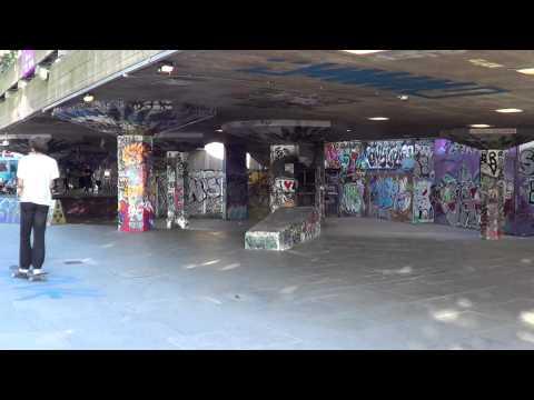 Southbank skatepark in London