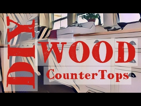DIY Wood Countertop | Butcher Block - Anyone Can Make