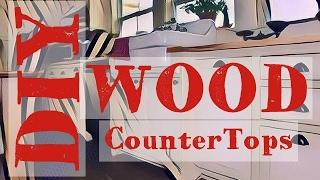 DIY Wood Countertop | Butcher Block - Anyone Can Make