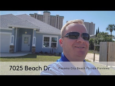 HOME FOR SALE: 7025 BEACH DRIVE Panama City Beach Florida Real Estate Agents Home Virtual Tour