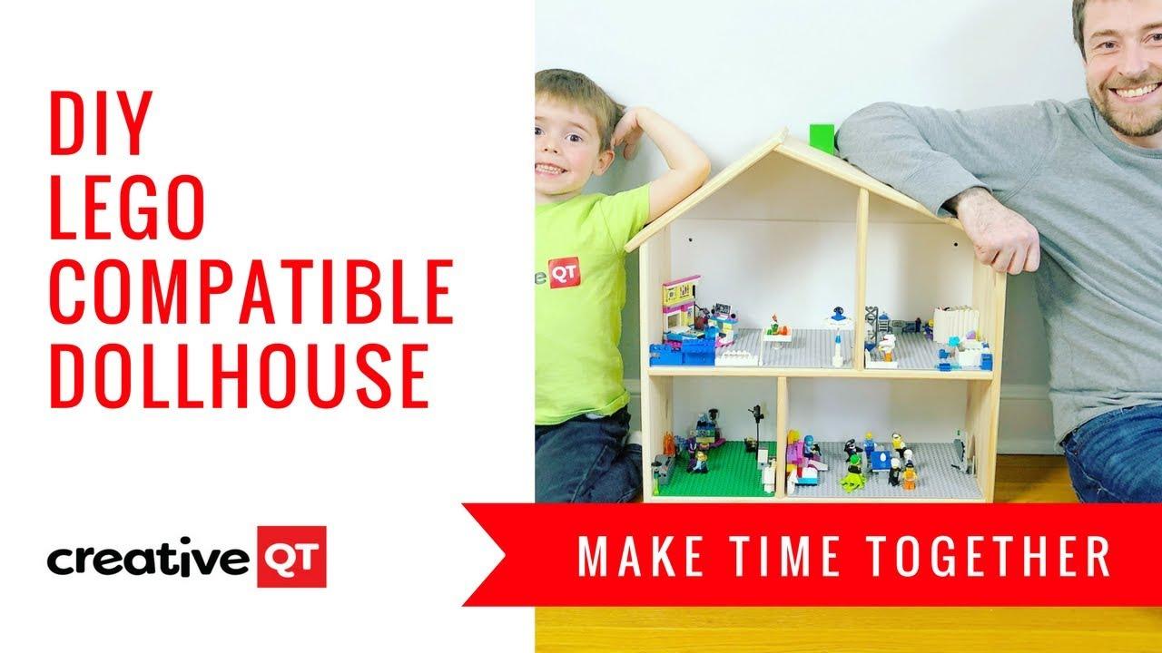 DIY LEGO Compatible Dollhouse