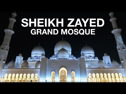 Sheikh Zayed Grand Mosque | Abu Dhabi, UAE (Day Trip from Dubai)