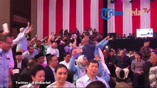 Tak Disiarkan TV: Saling Ejek Pendukung Capres 01 dan 02