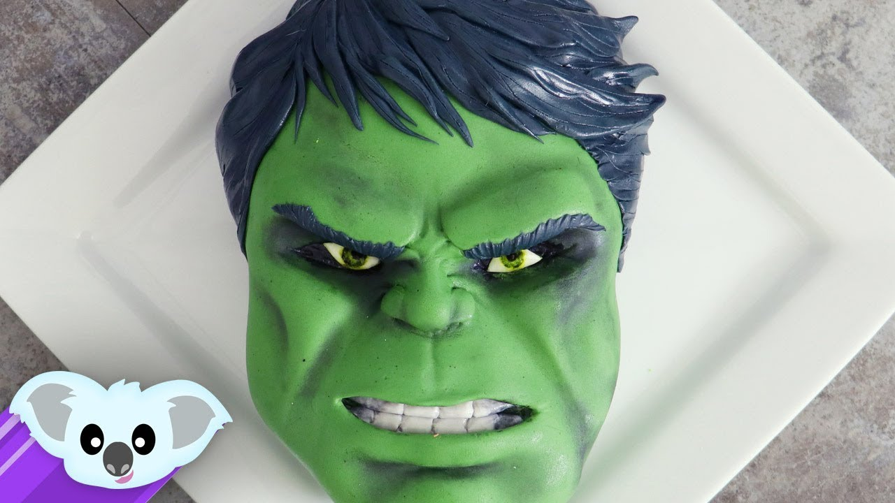 Hulk Cake Thor Ragnarok DIY and How to YouTube