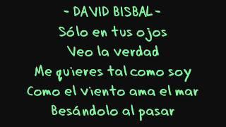 Miley Cyrus y David Bisbal-when I look at you (Te miro a ti) Lyrics
