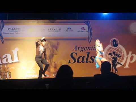 Karen Forcano Y Ricardo Vega-1°puesto improvisación-FINAL SALSA OPEN 2012