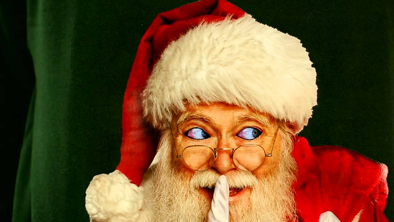 Creeping Santa Ugly Christmas Sweater- Digital Dudz Christmas 2013 ...