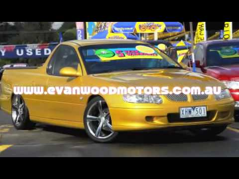 2001 holden ute for sale at evanwood motors car city Motor city car sales