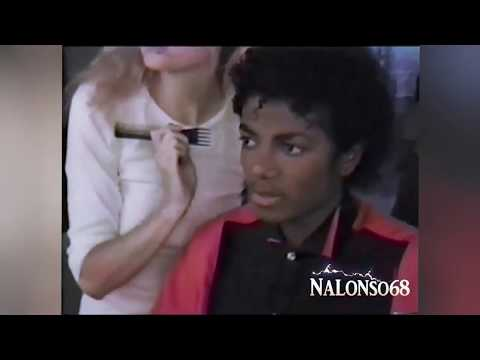 Michael Jackson - Thriller Photo Session  Home Video (enhanced )