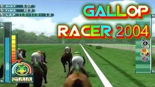Gallop Racer 2004 Playstation 2 Gameplay Walkthrough Horse Racing Games For PS2 Commentary Day 55