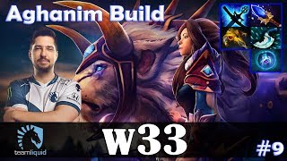 w33 - Mirana MID | Aghanim Build is COMING | Dota 2 Pro MMR Gameplay #9