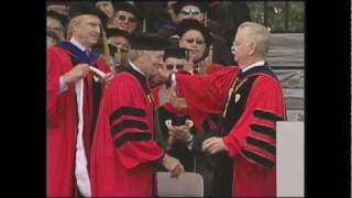 Jacques Pépin Receives Honorary Degree at BU
