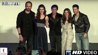 Download lagu Dilwale Gerua Song Launch Kajol Shah Rukh Khan Kriti Sanon Varun Dhawan A Rohit Shetty Film MP3