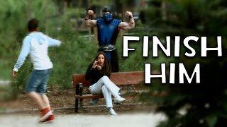 Mortal Kombat Finish Him (Cámara Oculta) MrAndrosLB