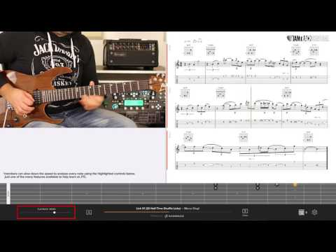 *JTC Free Lick #1* From Marco Sfogli's '20 Half Time Shuffle Licks'
