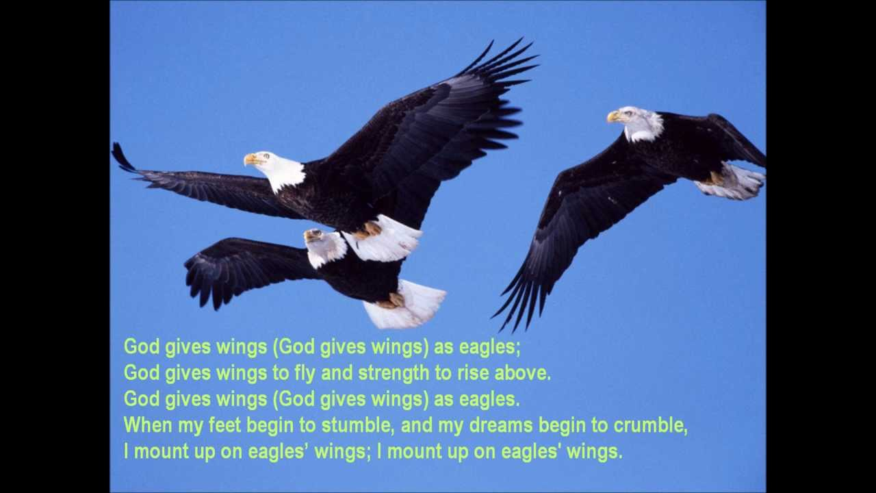 Wings As Eagles {with lyrics} - //Ron Hamilton\\ Chords