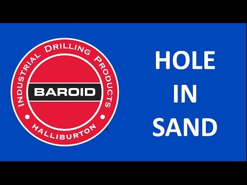 Hole in Sand Demonstration