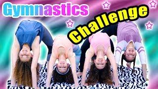 Gymnastics Challenge! (Haschak Sisters) thumbnail
