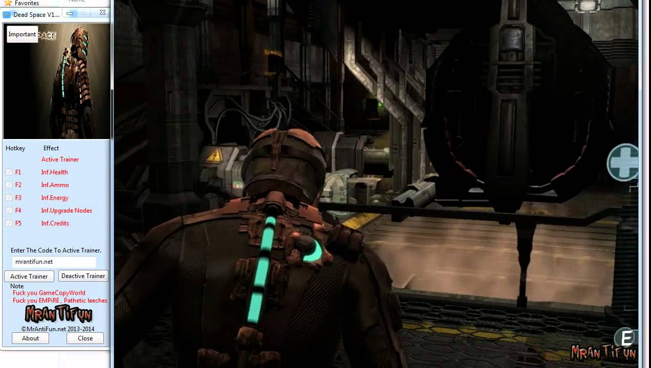 Dead Space V1 0 0 222 Trainer 5 Cheats