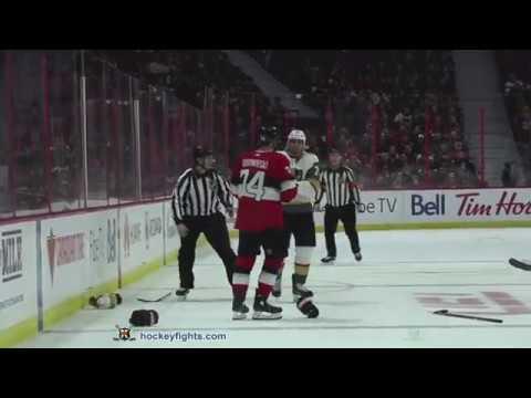 Ryan Reaves vs Mark Borowiecki Nov 8, 2018