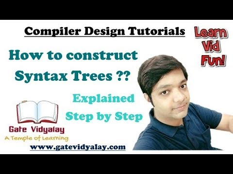 Syntax Trees in Compiler Design Explained step by step | Syntax trees Vs Parse Trees Vs DAGs