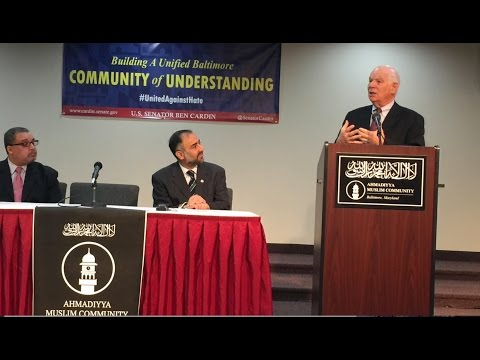 MTA News - Senator Ben Cardin visits Baltimore mosque