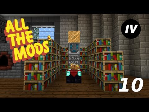 Minecraft All The Mods 3 - Episode 10 - Induction Matrix & Enchanting