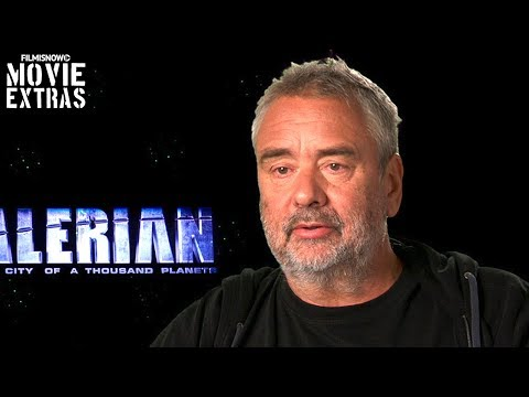 Valerian and the City of a Thousand Planets   On-set visit with Luc Besson 'Director'