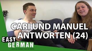 Cari und Manuel antworten (24) - Sexy German Accents | Mexiko | Ungarn | Fußball