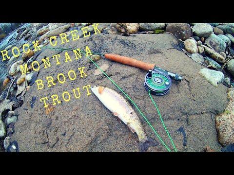 Flyfishing Rock Creek MT