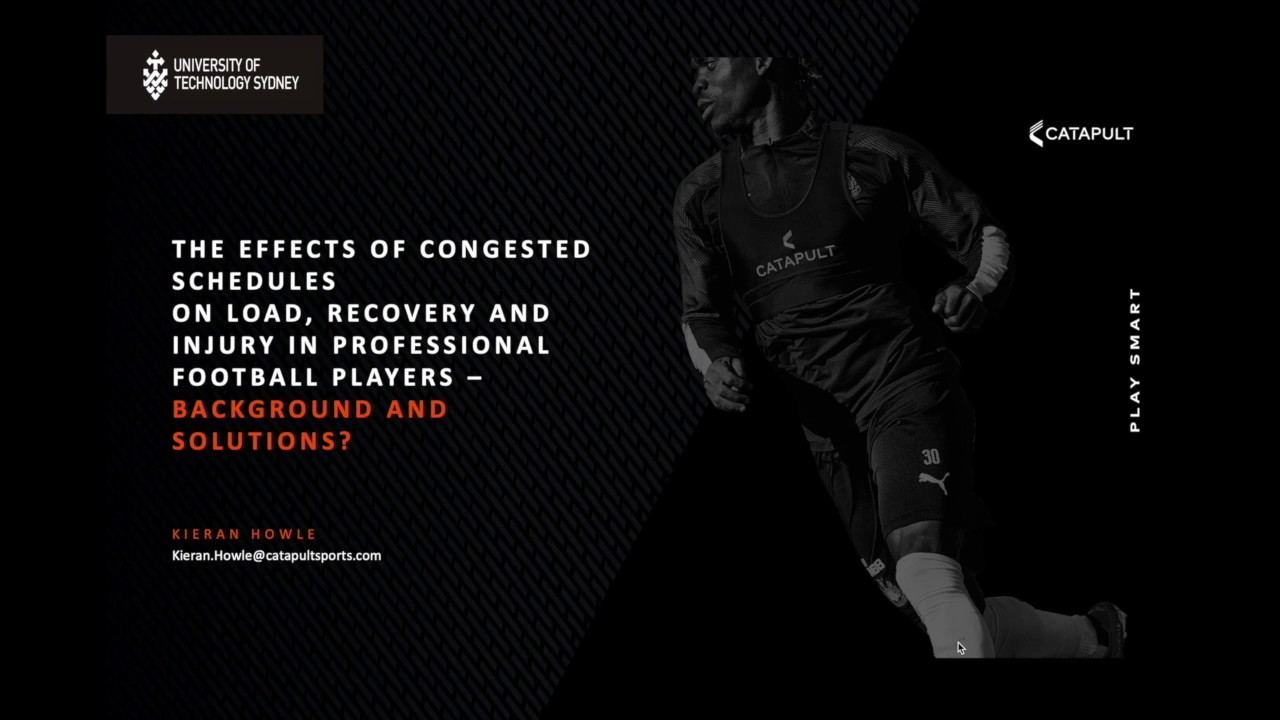 The effects of congested schedules on load, recovery and injury in professional football players