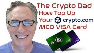 How to Top Up Your Crypto.com MCO VISA Card (How to Spend Your Bitcoin)