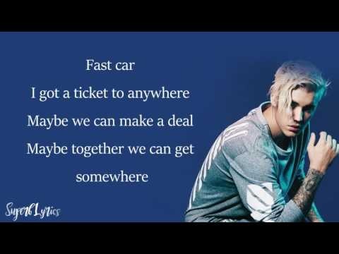 Justin Bieber -  Fast Car Cover Tracy Chapman