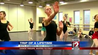 SCPA dance troupe invited to Italy